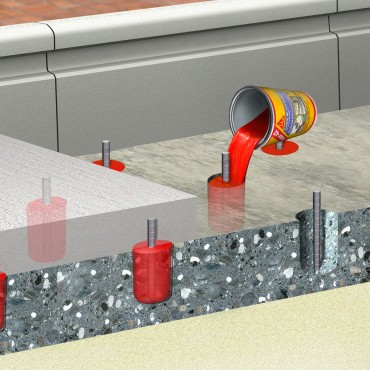 Prezentare produs Mortar sinteticl pentru subturnari si fixari SIKA - Poza 5