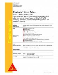 Amorsa  anti-coroziva pentru suprafete metalice expuse
