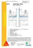 Hidroizolatii acoperisuri verzi-detaliu de ventilare SIKA