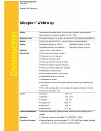 Membrana din PVC pentru zone traficabile