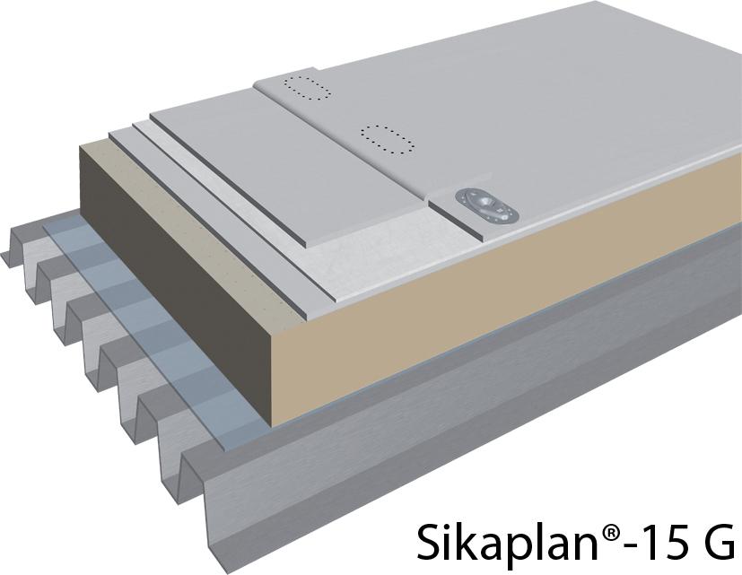 Membrane hidroizolante din PVC  SIKA - Poza 1