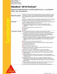 Sapa poliuretanica pentru conditii grele de lucru