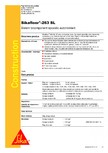 Sistem bicomponent epoxidic autonivelant SIKA - Sikafloor®-263 SL