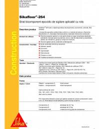 Strat bicomponent epoxidic de sigilare