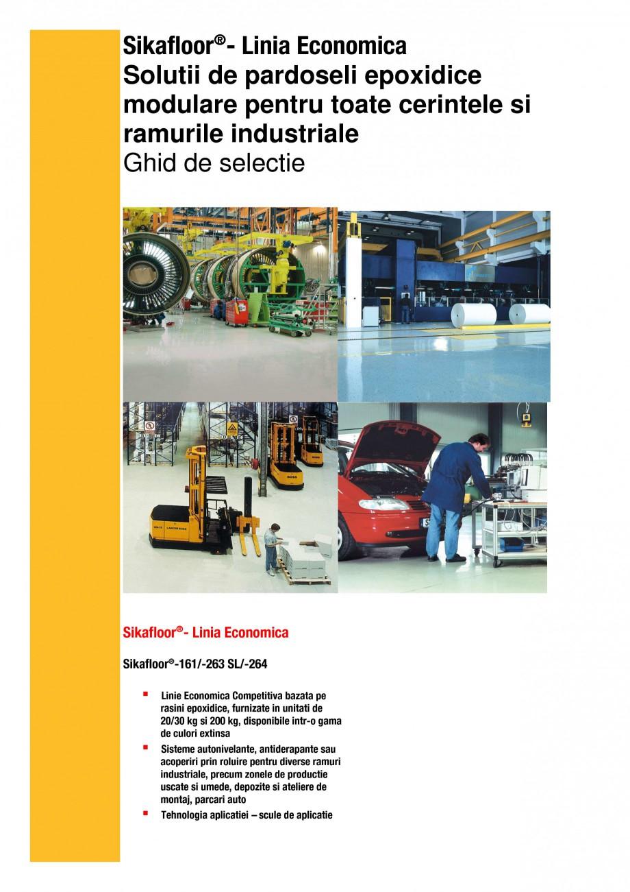 Pagina 2 - Ghid de selectie - Solutii de pardoseli epoxidice modulare pentru cerintele si ramurile...