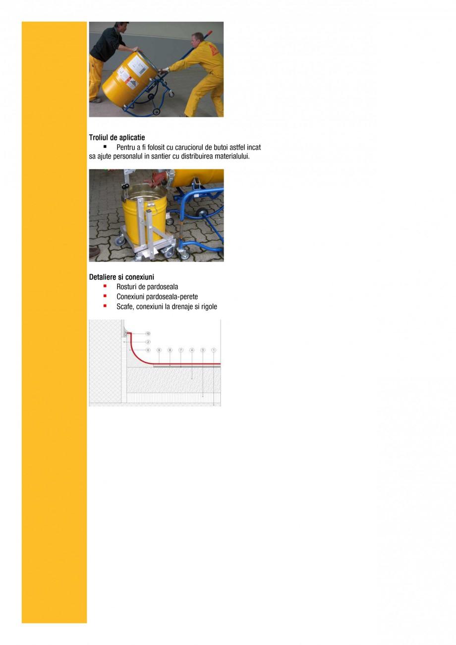Pagina 6 - Ghid de selectie - Solutii de pardoseli epoxidice modulare pentru cerintele si ramurile...