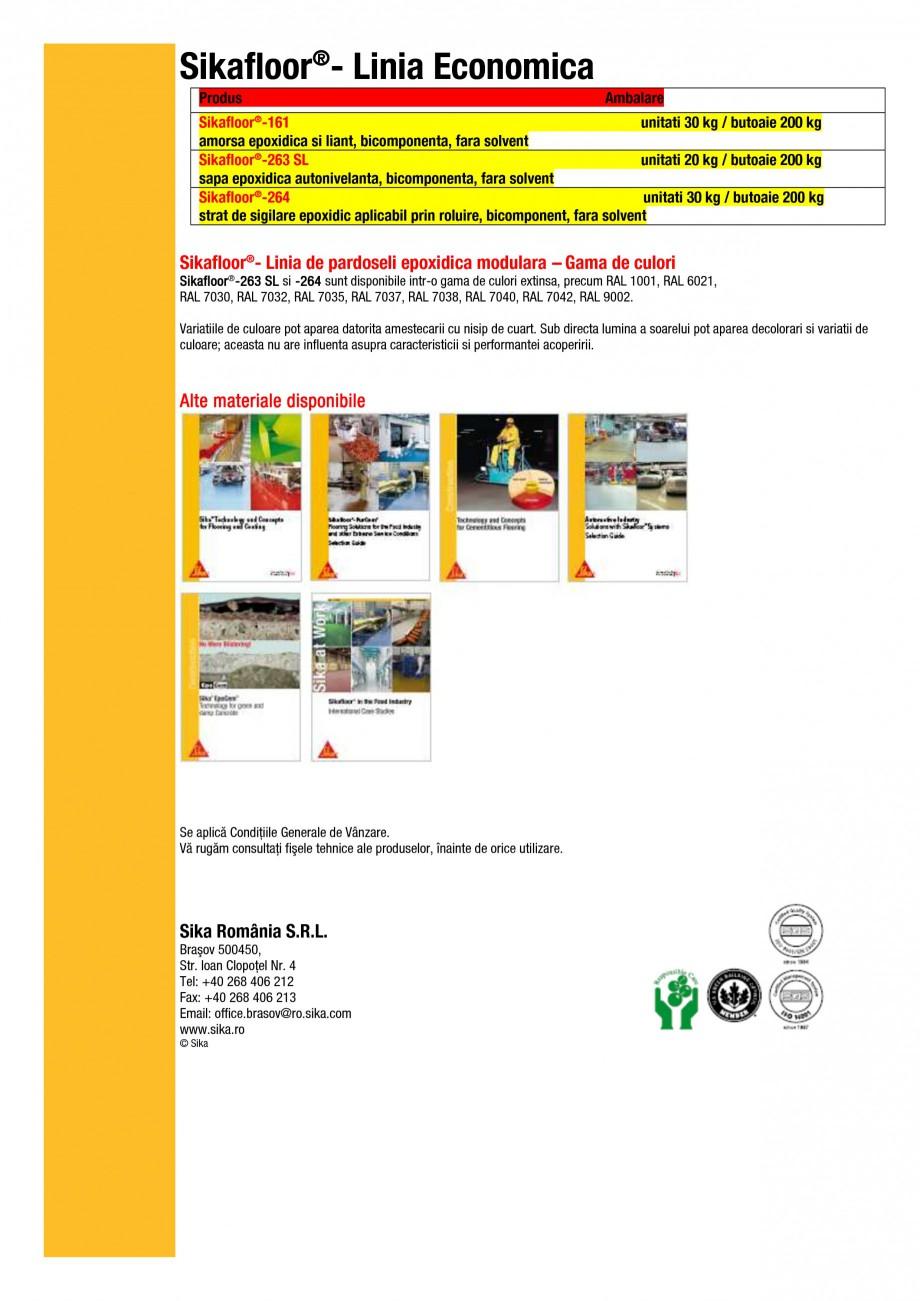 Pagina 7 - Ghid de selectie - Solutii de pardoseli epoxidice modulare pentru cerintele si ramurile...