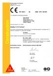 Declaratie de conformitate SIKA - Sikafloor®-21 N PurCem®