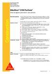 Strat de sigilare poliuretanic fara solventi SIKA - Sikafloor®-31 N PurCem®