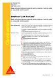 Sapa poliuretanica autonivelanta pentru incarcari medii si grele cu proprietati antiderapante SIKA - Sikafloor®-22 N PurCem®