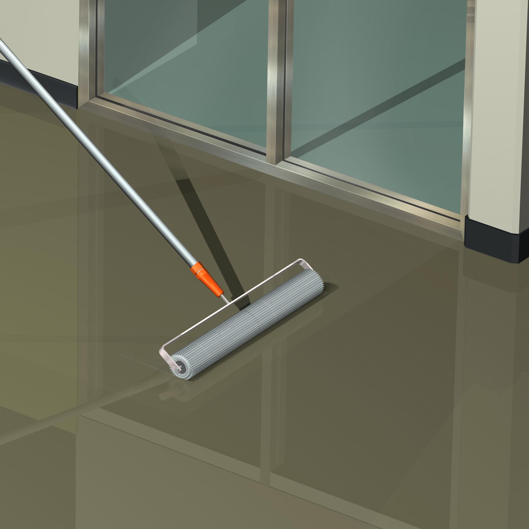 Mortar epoxidic cimentos pentru sape autonivelante - Aplicare SIKA - Poza 3