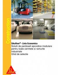 Ghid de selectie - Solutii de pardoseli epoxidice modulare pentru cerintele si ramurile industriale
