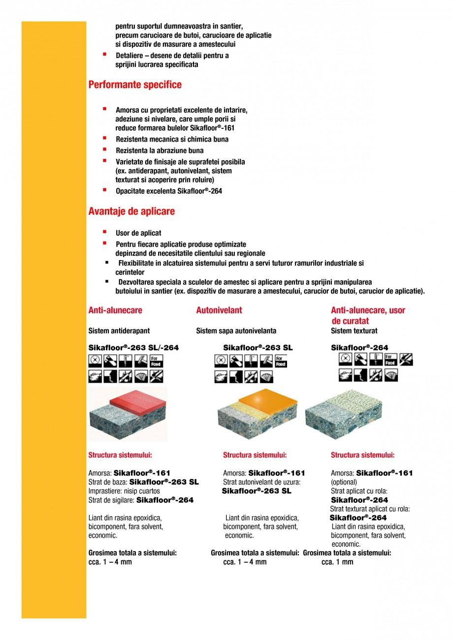 Pagina 3 - Ghid de selectie - Solutii de pardoseli epoxidice modulare pentru cerintele si ramurile...