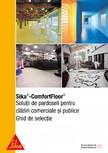 Ghid de selectie - Solutii de pardoseli pentru cladiri comerciale si publice SIKA