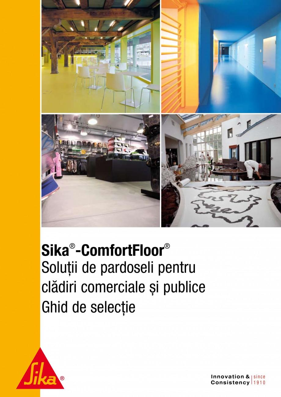 Pagina 1 - Ghid de selectie - Solutii de pardoseli pentru cladiri comerciale si publice SIKA...