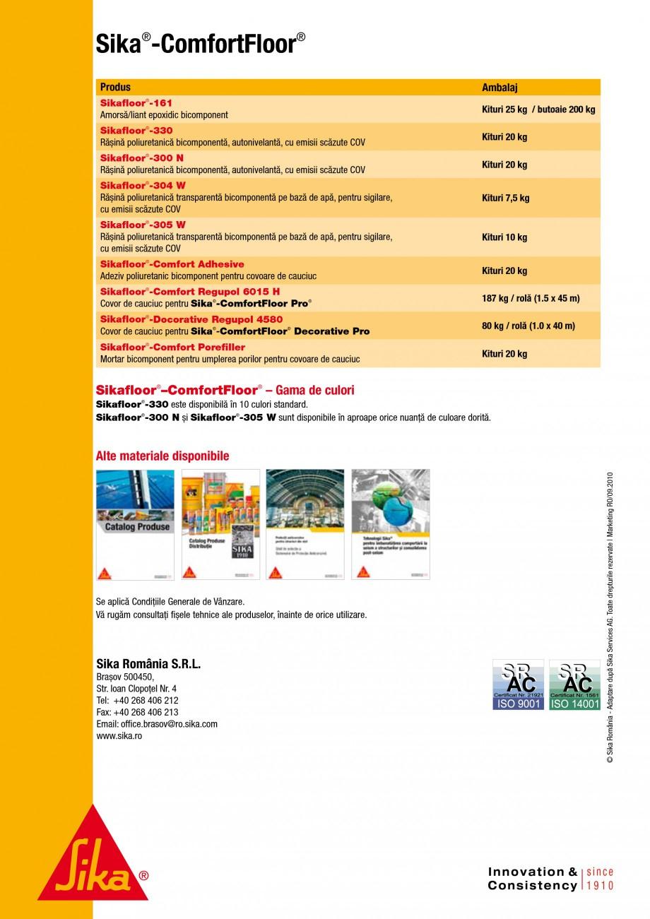 Pagina 3 - Ghid de selectie - Solutii de pardoseli pentru cladiri comerciale si publice SIKA...