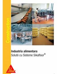 Solutii pentru industria alimentara cu sisteme Sikafloor
