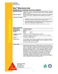 Substanta de protectie elemente metalice SIKA - Sika® Mischerschutz