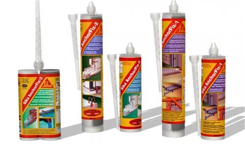 Prezentare produs Ancore chimice SIKA - Poza 1