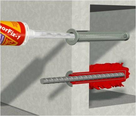 Exemple de utilizare Ancore chimice SIKA - Poza 6