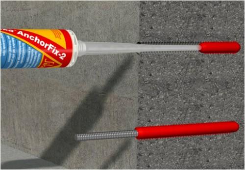 Exemple de utilizare Ancore chimice SIKA - Poza 7