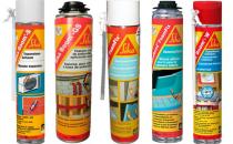 Spuma poliuretanica Spuma poliuretanica Sika poate fi folosita pentru fixarea, izolarea sau umplerea rosturilor la ferestre, usi, aparate de aer conditionat, in jurul conductelor.