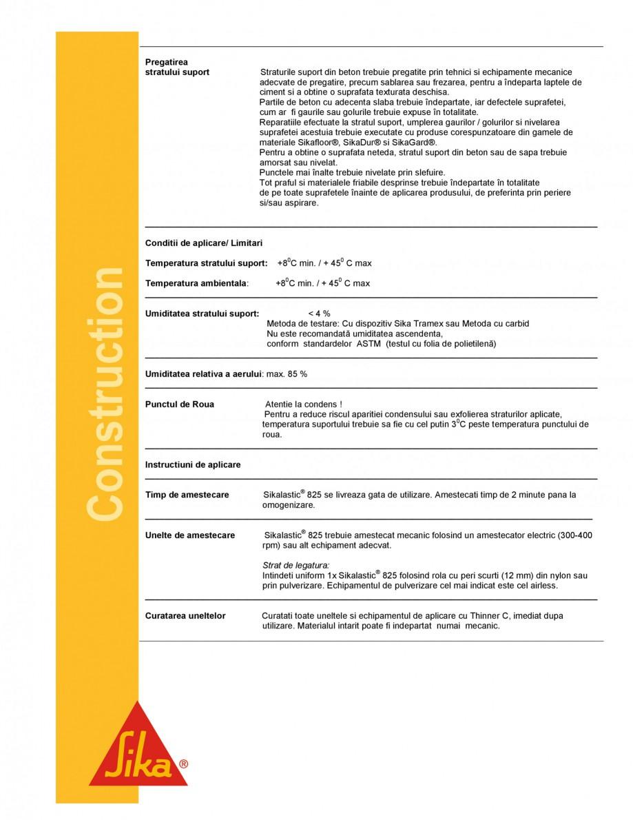 Pagina 3 - Strat de legatura bituminos pentru aderenta asfaltului cilindratla cald SIKA...