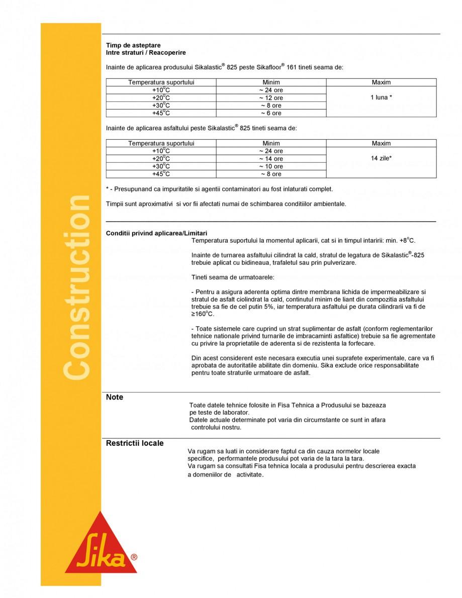 Pagina 4 - Strat de legatura bituminos pentru aderenta asfaltului cilindratla cald SIKA...