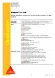 Adeziv si mortar de reparatie bi-component, tixotropic SIKA - Sikadur®-31 DW