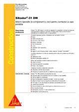 Adeziv si mortar de reparatie bi-component, tixotropic SIKA