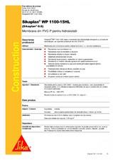Membrana din PVC-P pentru hidroizolatii SIKA