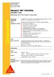 Membrana din PVC-P pentru hidroizolatii  SIKA - Sikaplan® WP 1100 - 20HL