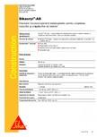 Etansant pentru umplerea rosturilor si crapaturilor de interior SIKA - Sikacryl®-AS