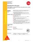 Adeziv elastic pentru lipirea pardoselilor din lemn SIKA - SikaBond® 54 Parquet