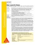 Amorsa acrilica pentru sape autonivelante cimentoase SIKA - Sika® Level-01 Primer