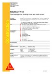Amorsa epoxidica bicomponenta SIKA - Sikafloor®-144