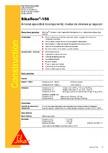Amorsa epoxidica bicomponenta, mortar de nivelare si reparatii SIKA - Sikafloor®-156
