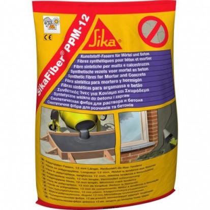 Fibre din polipropilena pentru armarea mortarelor si betonului / Fibre din polipropilena pentru mortar si beton SikaFiber® PPM-12