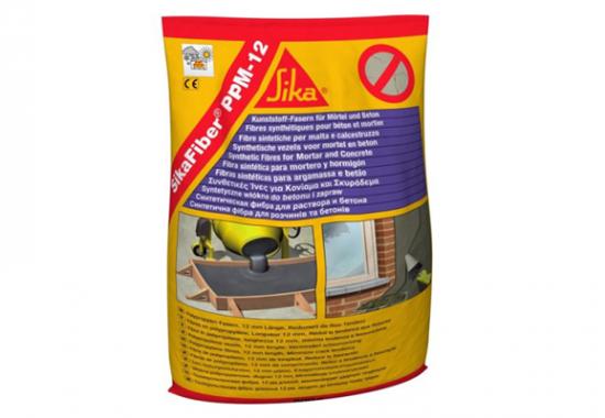 Fibre din polipropilena pentru armarea mortarelor si betonului SIKA