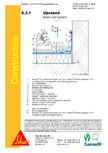 Hidroizolatii acoperisuri verzi-detaliu de etansare SIKA