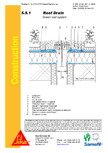 Hidroizolatii acoperisuri verzi-detaliu gura de scurgere SIKA
