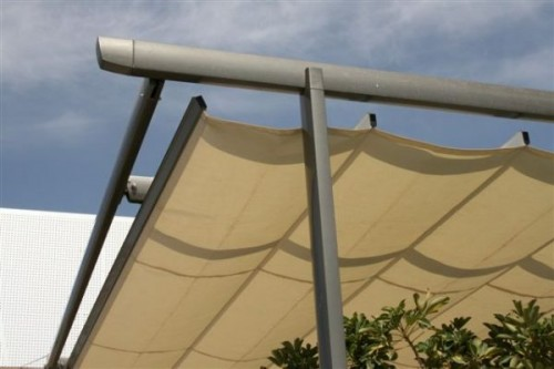 Prezentare produs Pergole retractabile GAVIOTA SIMBAC - Poza 6
