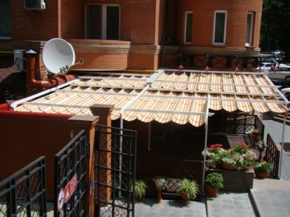Pergole retractabile / Pergola retractabila - MINO 7