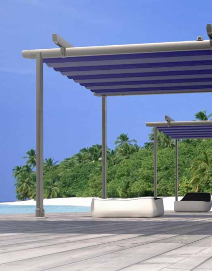 Pergole retractabile / Pergola retractabila - ZEN b