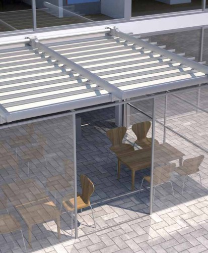 Pergole retractabile / Pergola retractabila - ZEN c