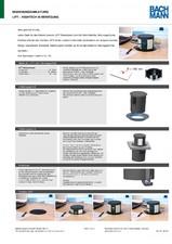 Sistem de management al cablurilor pentru birou BACHMANN