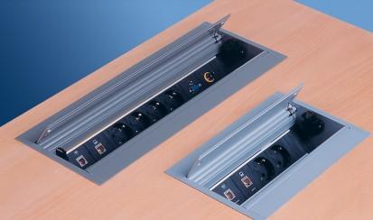 Sistem de management al cablurilor pentru birou / CONFERENCE3