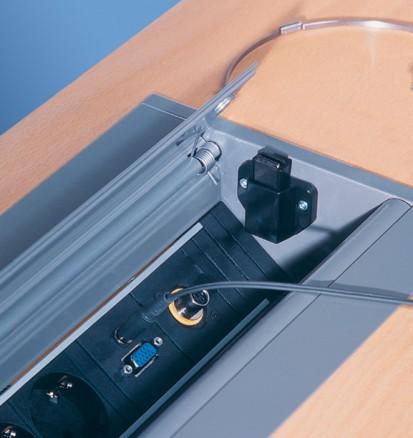 Sistem de management al cablurilor pentru birou / CONFERENCE2