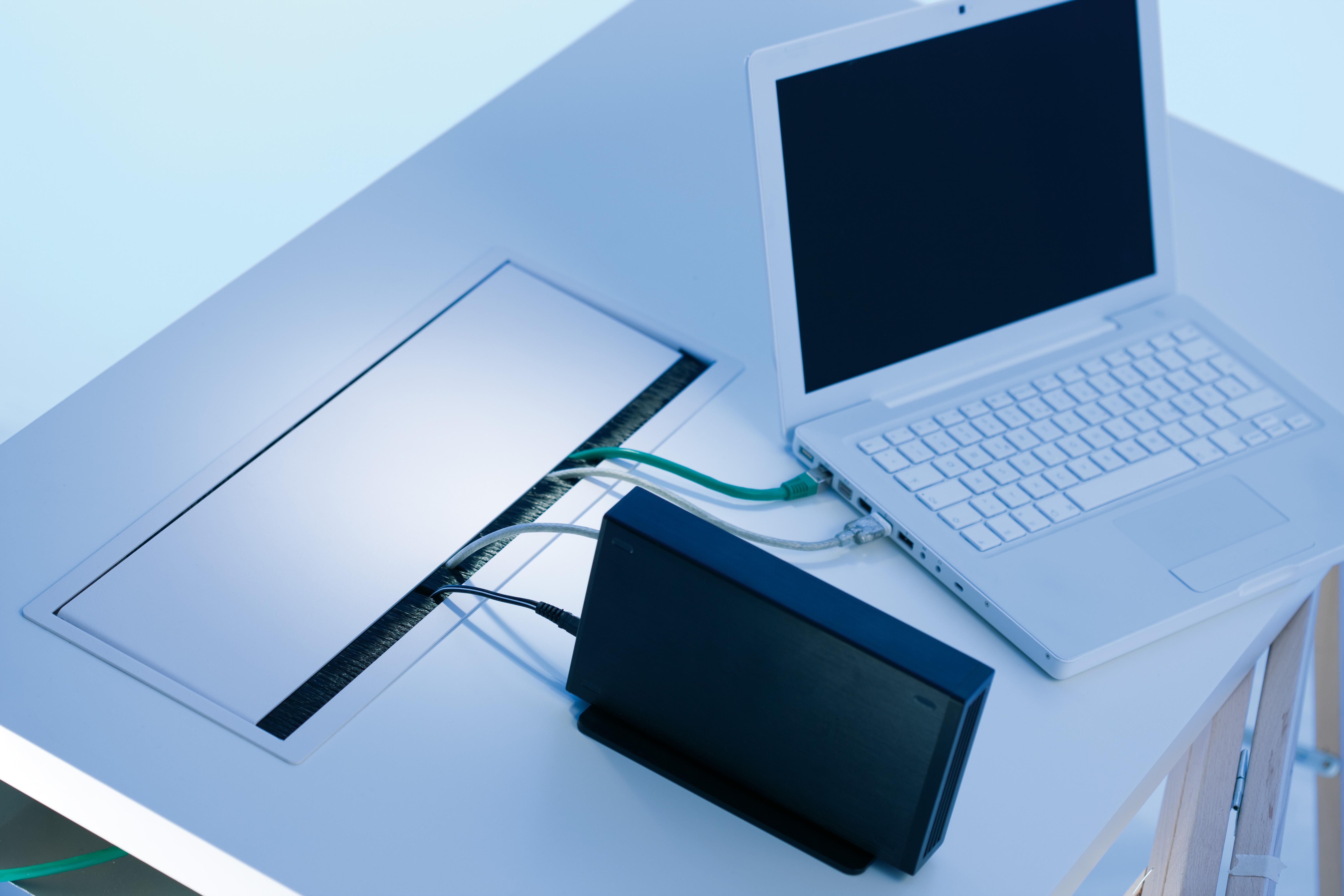 Sistem de management al cablurilor pentru birou BACHMANN - Poza 10