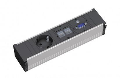 Sistem de management al cablurilor pentru birou / z333_1009